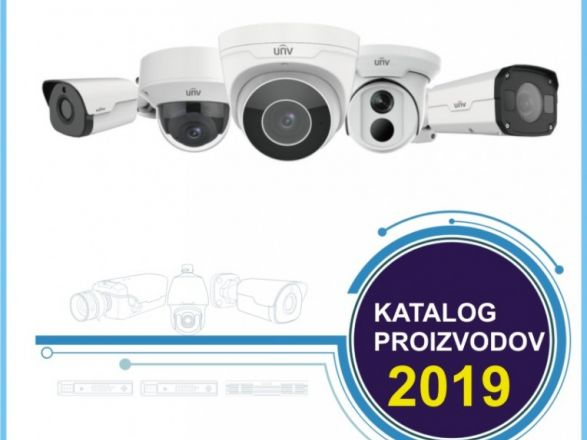 Nov katalog UNIVIEW video nadzornih sistemov